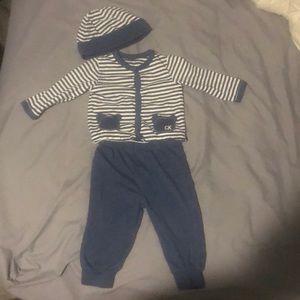 Calvin Klein infant 3 piece outfit